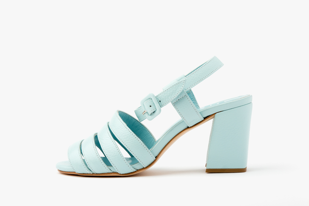 Palma sandals - Blue Maryam Nassir Zadeh