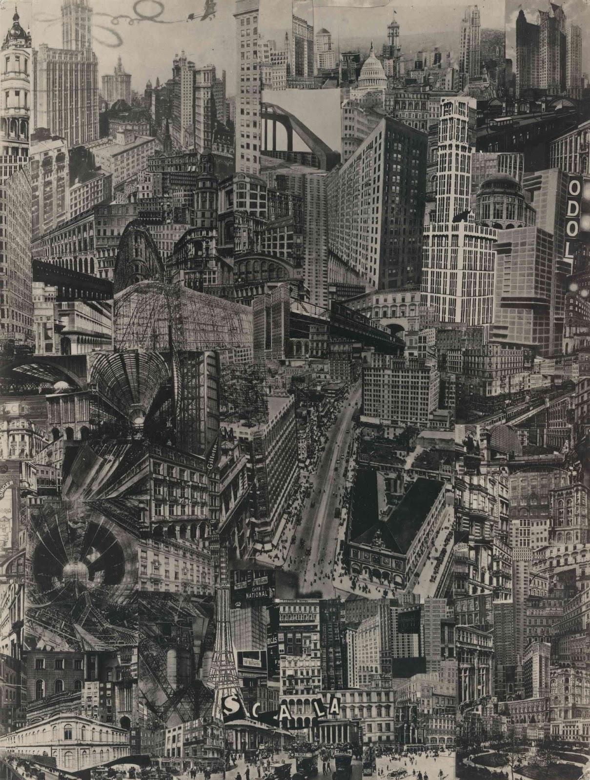 Paul Citeron. Metropolis. 1923.