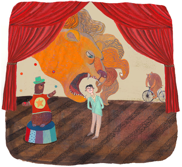 Martyna Zottaszek has some really fantastic illustrations. She has a lot of children illustrations. You know, fun stuff where lions talk to children, donkeys bearing gifts, and parks, cities, animals, other forms of life. You should check out her portfolio. She's based in Wroclaw, Poland.