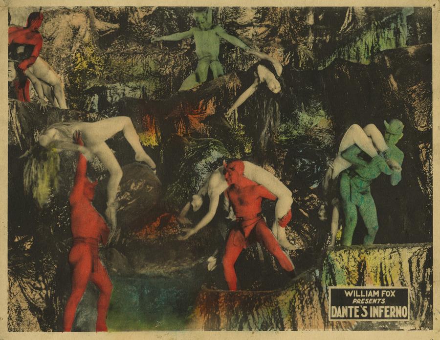 William Fox. Dante's Inferno. 1924.