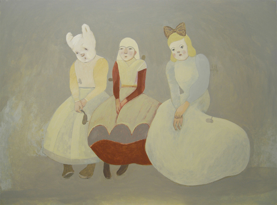 I discovered  Camilla Engman's  work on flickr today. Did I mention I love it? How can you not love muted colors, and distant cousins of the Vivian Girls?