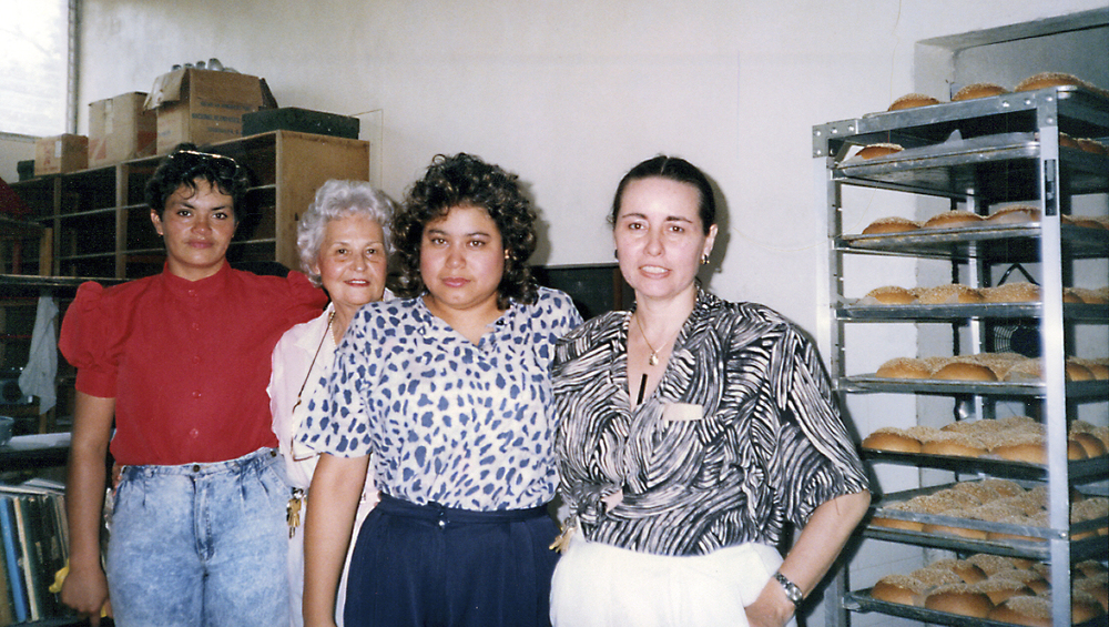 Staff at Bakery in Honduras