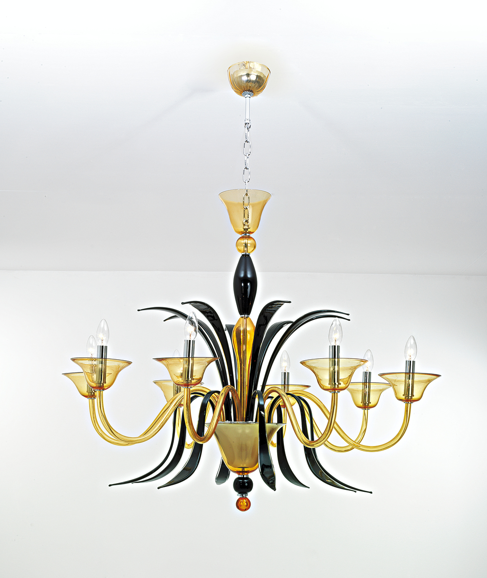murano glass lighting michigan