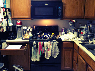kitchen clutter, kitchen design