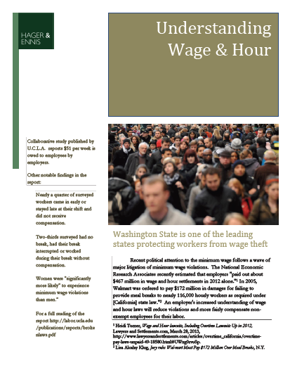 Wage & Hour FAQ