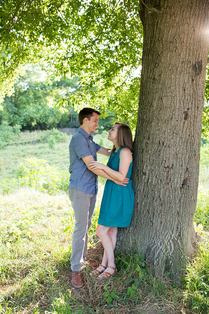 Page Perrault - Athens, GA Engagement Photographer