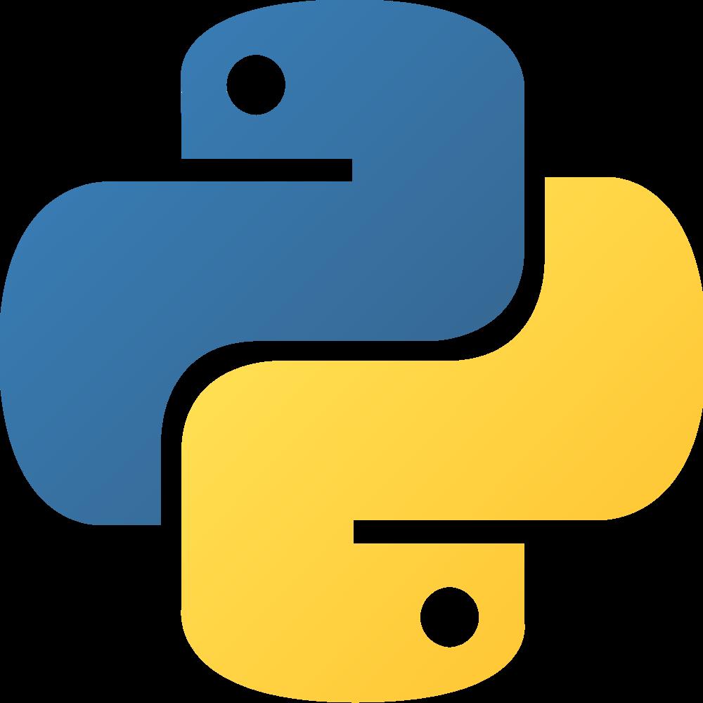 (imagem: Wikimedia-CC,https://upload.wikimedia.org/wikipedia/commons/thumb/c/c3/Python-logo-notext.svg/2000px-Python-logo-notext.svg.png)