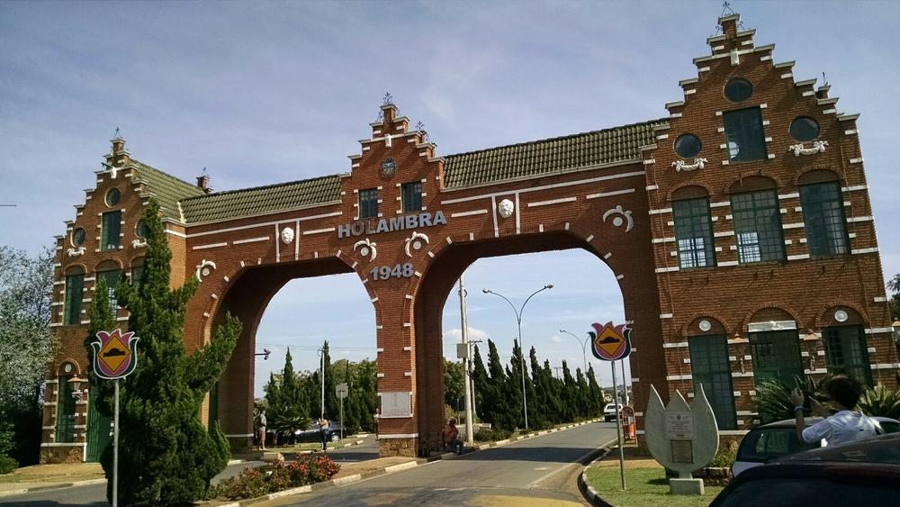 Cidade de Holambra, SP. Foto do arquivo pessoal
