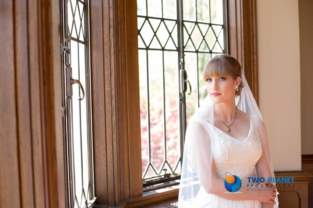 Bridal Couture by Sonni custom lace wedding dress Amelia veil