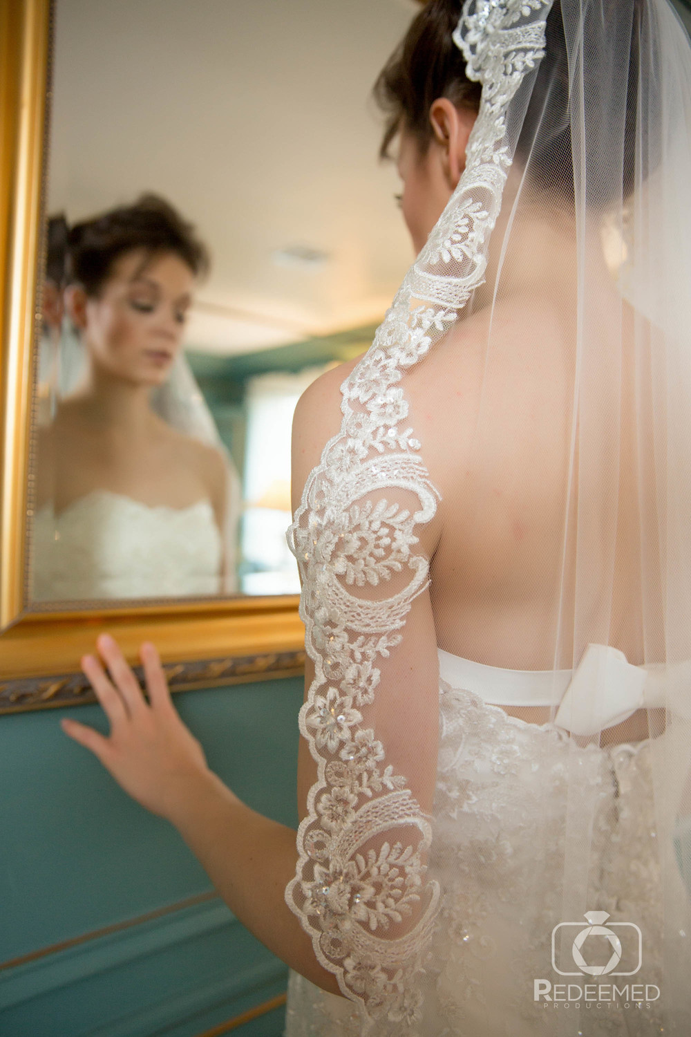 Bridal Couture by Sonni Custom Lace dress