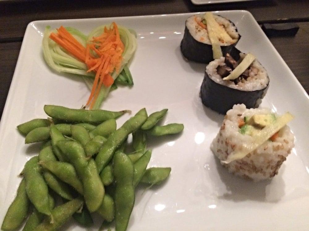 Sushi & Edamame