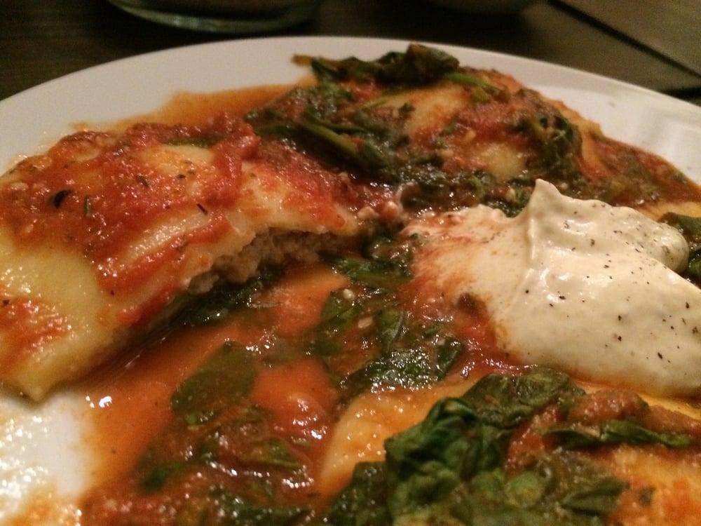 Homemade Ravioli with Tofu Cashew Mascarpone