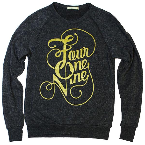 Fancy Four One Nine Crew Sweatshirt