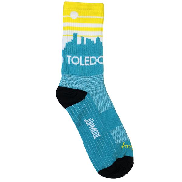 Toledo Skyline Socks