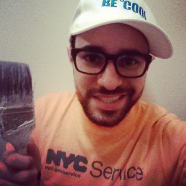 Volunteer work with NYC Cool Roofs. Helping reduce heat by painting roofs white, one building at a time.