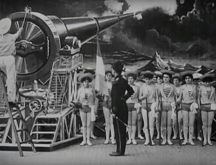 A Trip to the Moon (1904 movie still)