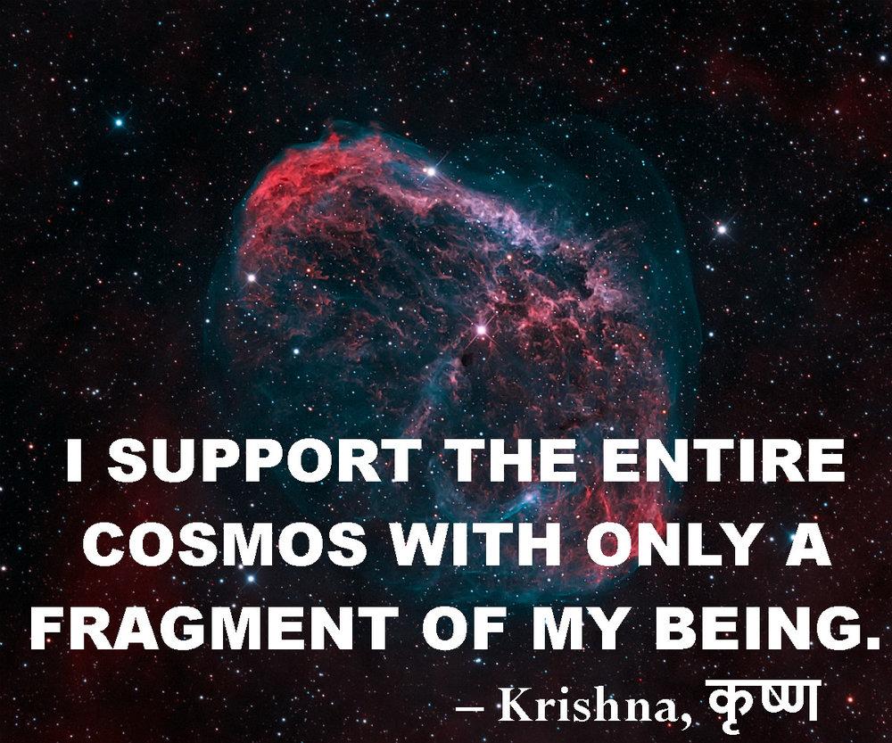 Krishna quote from Bhagavad Gita