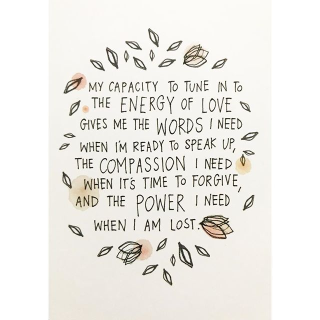 Winter feels 🍂Tune in to the energy of L O V E 🍂 #soulsunday #theuniversehasyourback . . . . . #deck #oraclecards #affirmations #universe #artwork #watercolor #ink #pen #illustration #workingmama #micaelaezra #gabriellebernstein #nyc #spirituality #spiritualart #selfcare #ritual #handwriting #alignment #love #peace #artist #illustrator #love #compassion #selfawareness #energy #power #growth