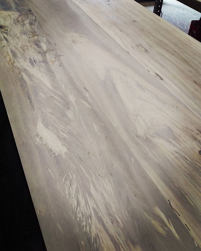 Who knew that tupelo would be so bold! #oxformstudio #localwood #woodworking #designbuild