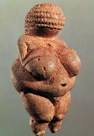 The paleolithic Venus of Willendorf