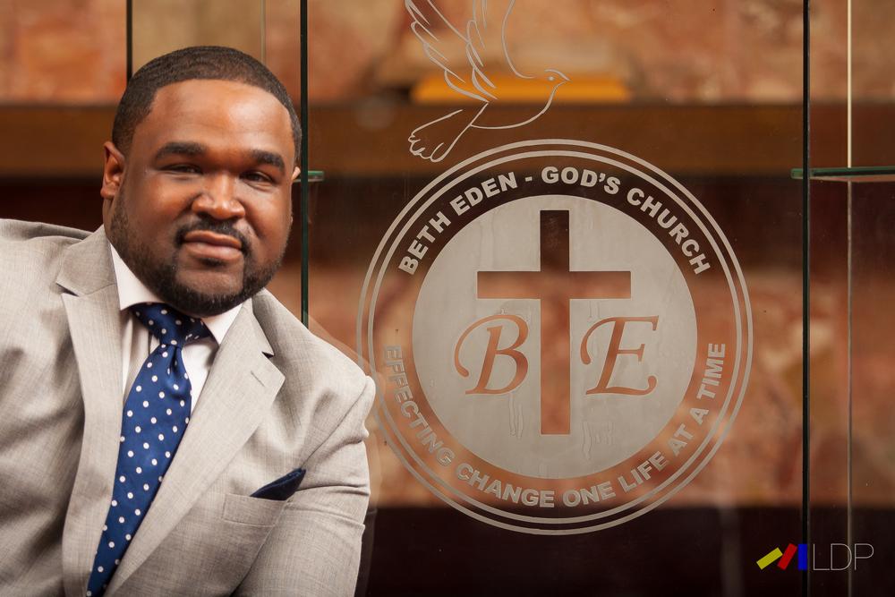 Pastor Isaiah Pettway of Beth Eden Missionary Baptist Church