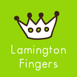 Lamington Fingers Gluten Free
