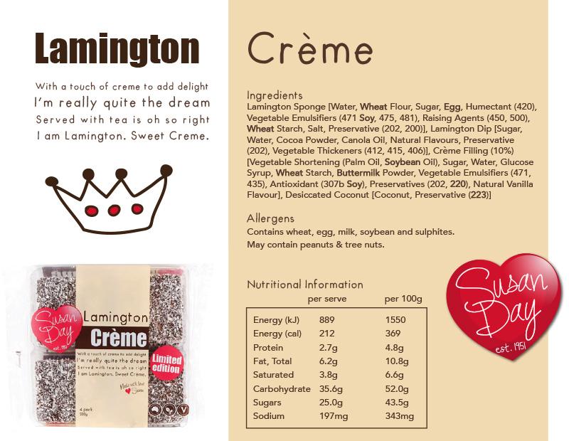 Lamington Creme
