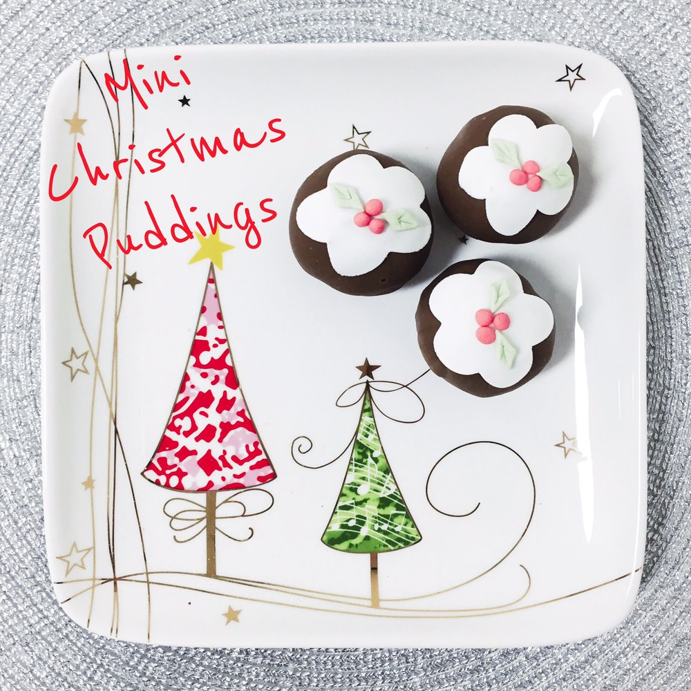 Mini Christmas Pudding
