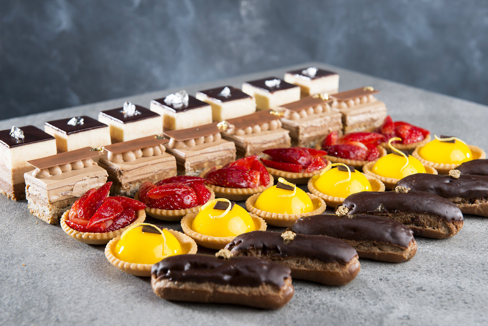 Selection of sweet petit fours