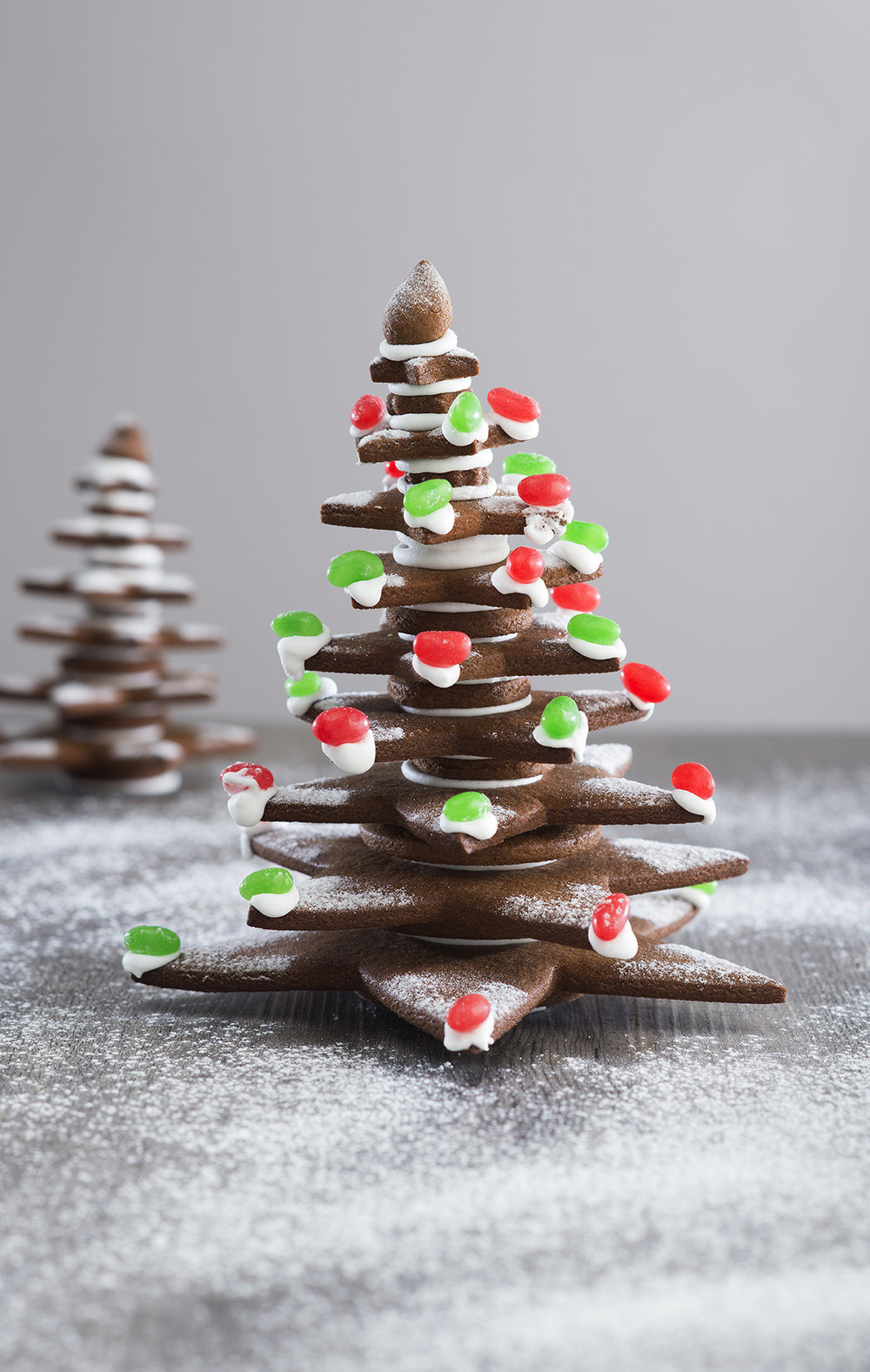 Large gingerbread tree