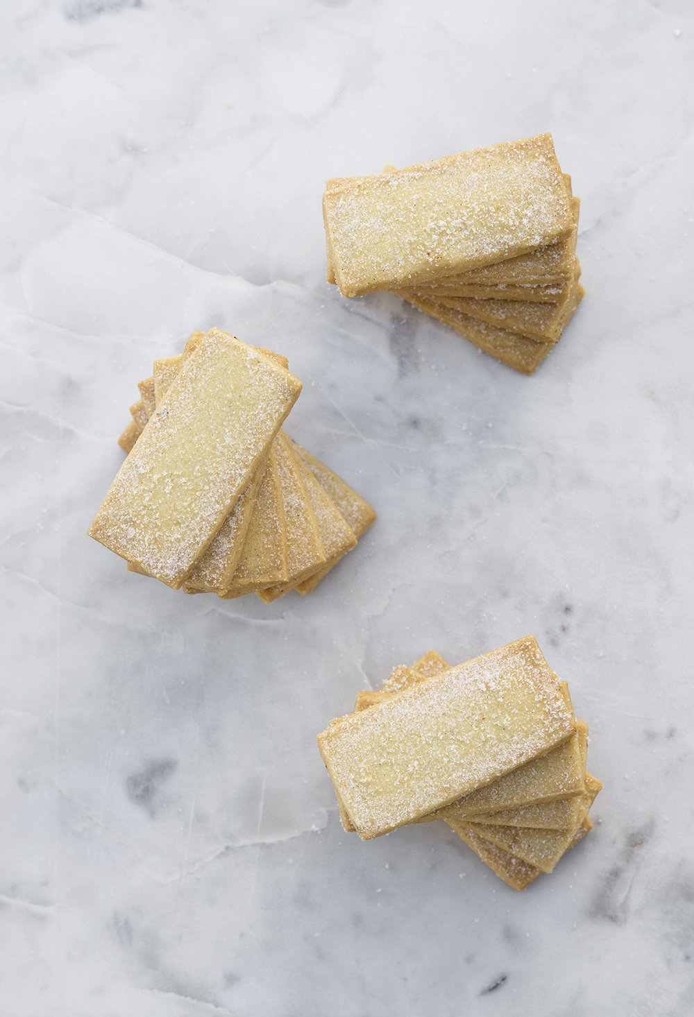 Vanilla bean shortbread