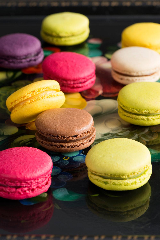 9. Macarons