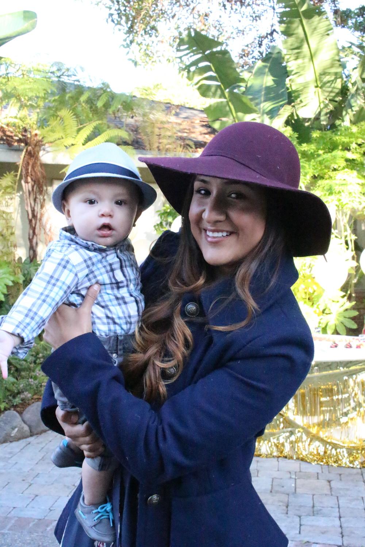 JJ with my childhood friend Elizabeth.