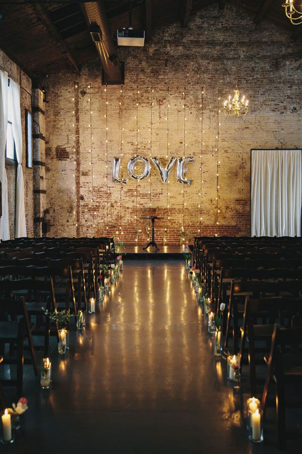 Stylish Green Building Wedding on RuffledBlog