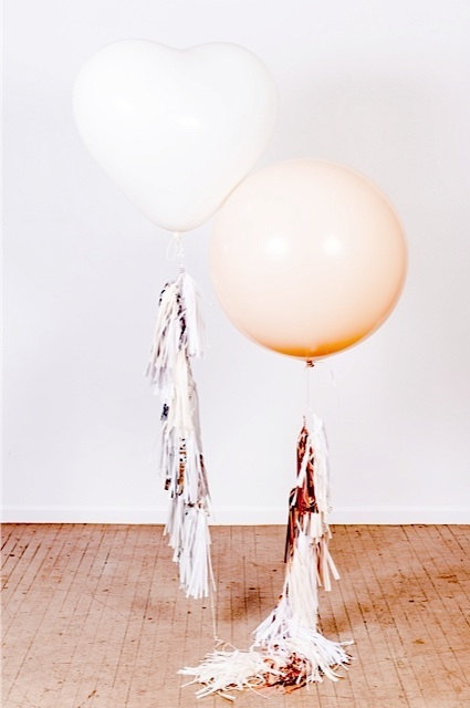 Balloon and Tassel Garlands by StudioMucci