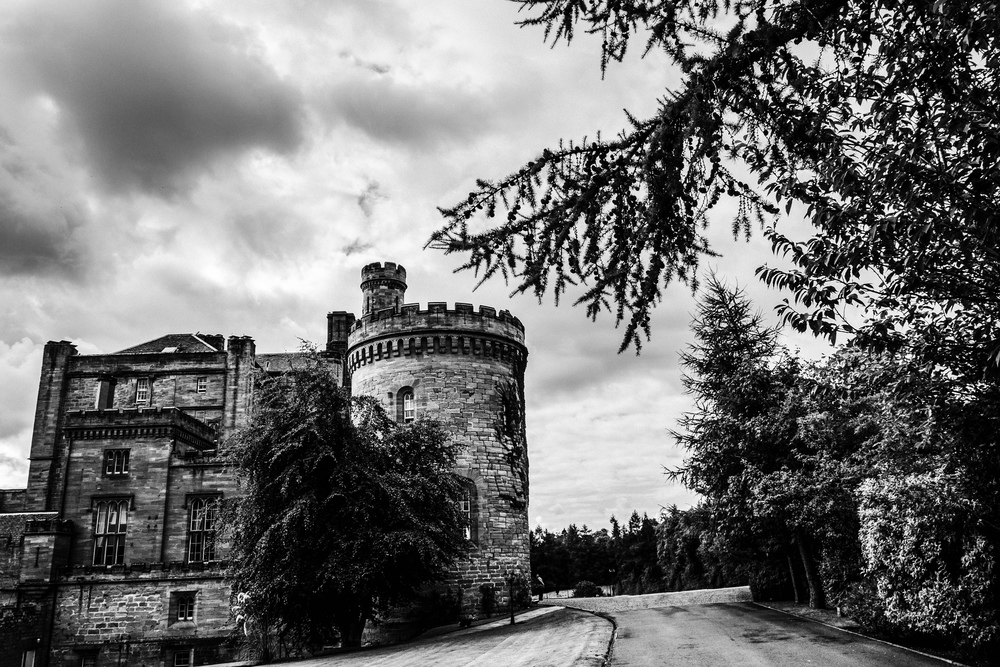 Dalhousie Castle in Edinburgh