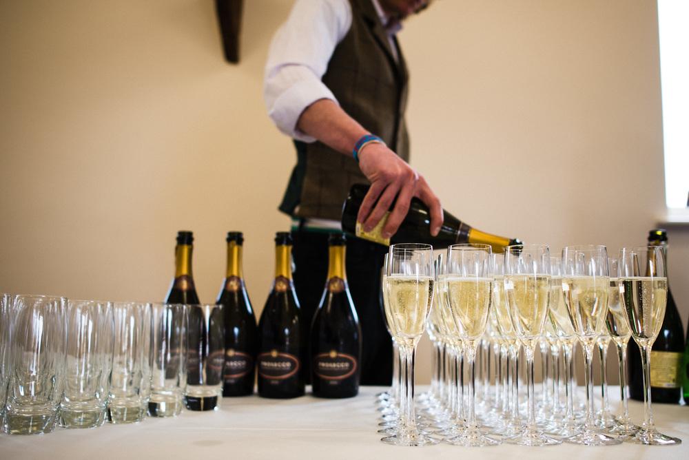champange, ufton court