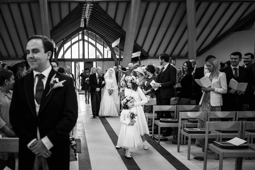douai abbey wedding