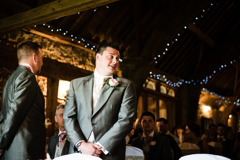 British Barn Wedding
