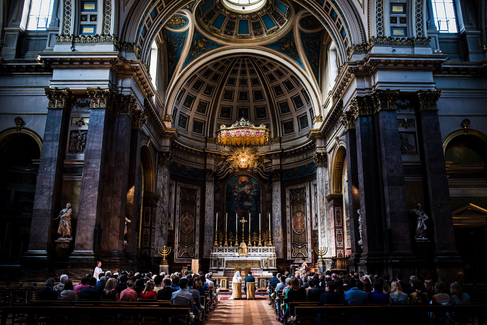 Brompton Oratory wedding photography - Robert & Mary-103.jpg