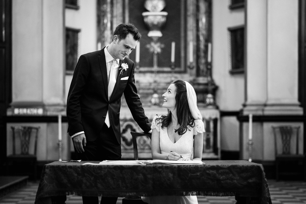 Brompton Oratory wedding photography - Robert & Mary-137.jpg