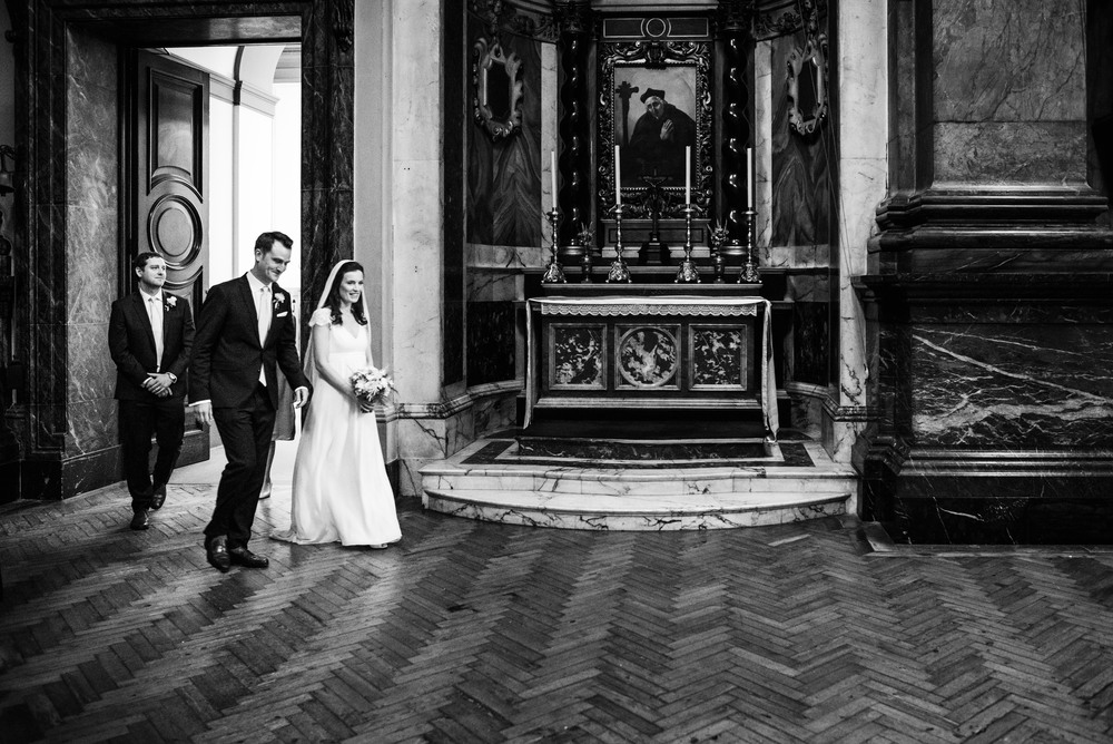 Brompton Oratory wedding photography - Robert & Mary-142.jpg