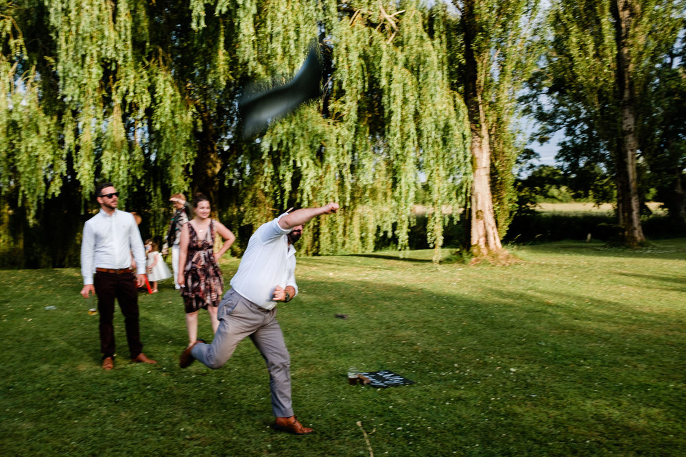 Welly Wanging in the Cotswolds
