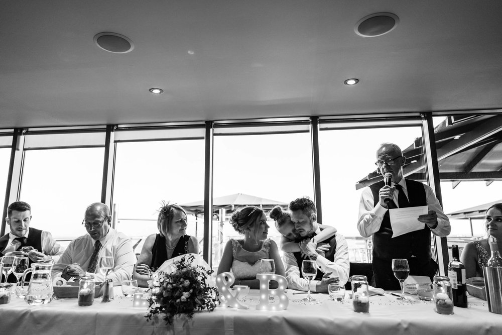 Wedding speeches - Sea View
