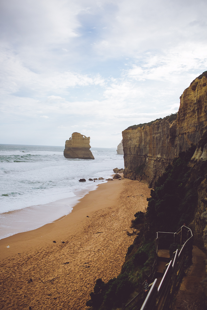 a glimpse at the 12 apostles.