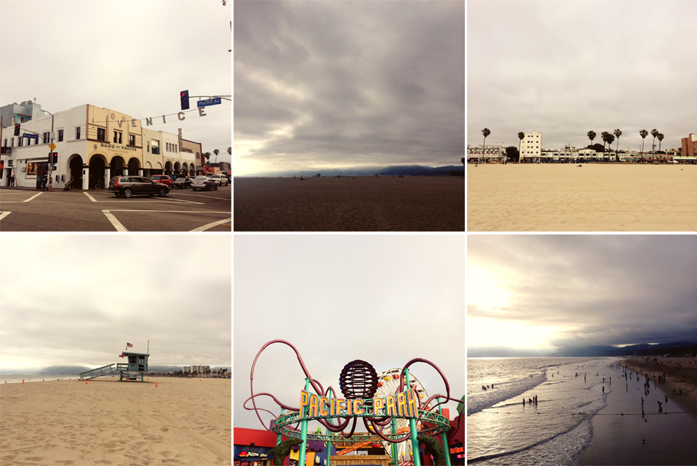 i didn't take my camera with me when we were exploring venice beach, so all i have are a few iphone photos.