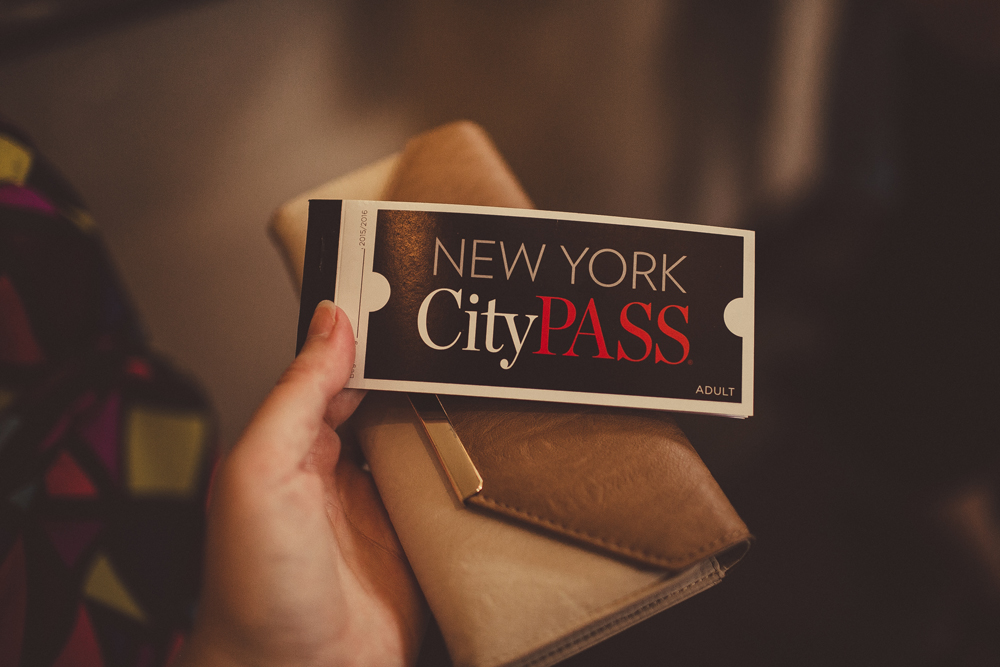 we purchased a new york city pass to do all the touristy things in new york. we savde a few dollars buying our tickets this way instead of individually at each attraction.
