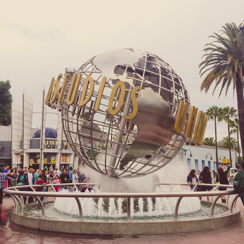 A day spent at Universal Studios.
