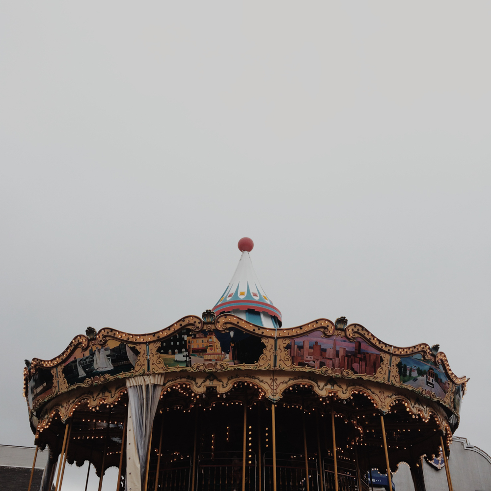 This reminded me of the carousel in Paris by the Eiffel Tower.