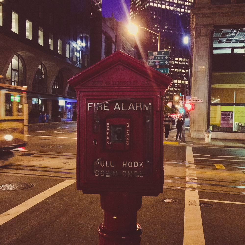 I thought this was such a cute looking fire alarm!
